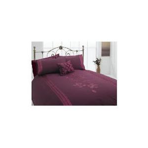 Photo of Tesco Applique King Duvet Set, Plum Bed Linen