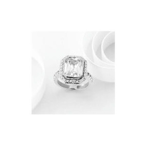Photo of Adrian Buckley Cubic Zirconia Ring, Large Jewellery Woman