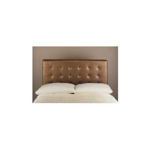 Photo of Midas Double Headboard, Metallic Bronze Bedding