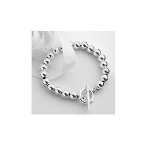 Photo of Sterling Silver Ball Bracelet Jewellery Woman