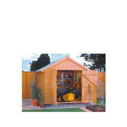 Rowlinson Premier Shiplap 10 x 8 Apex Shed Reviews