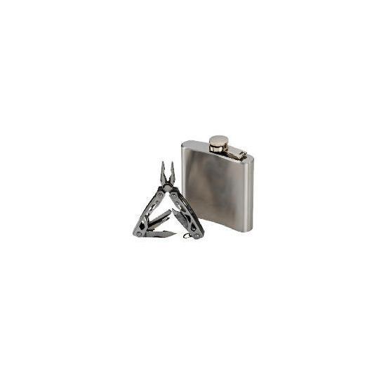 Tesco Hip Flask & Multi-tool
