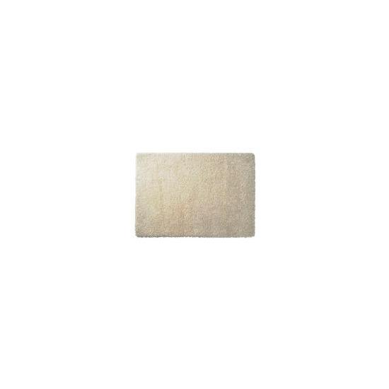Tesco Extra Thick Shaggy Rug, Cream 160x230cm