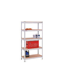 Clarke 5 Tier Galvanised Metal Shelving Reviews