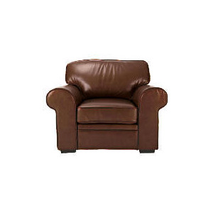 Photo of York Leather Armchair, Chocolate Furniture