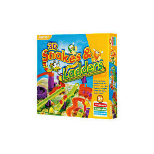 Photo of Tesco 3D Snakes and Ladders Toy