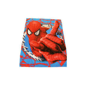 Photo of Spiderman Web Slinger Fleece Blanket Bed Linen