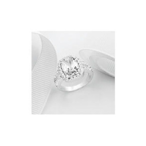 Photo of Sterling Silver Cubic Zirconia Ring Jewellery Woman