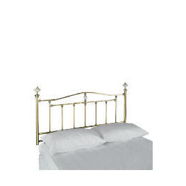 Burghley King Headboard, Antique Brass Finish Reviews