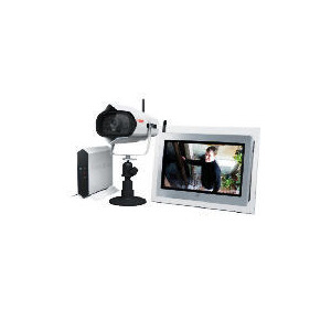 Photo of First Alert Wireless Camera and Digital Photo Frame Home Safety