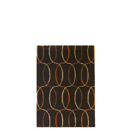 Tesco Circles Geometric Rug, Cinnamon 150x240cm Reviews