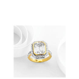 Adrian Buckley Cubic Zirconia Ring, Large Reviews