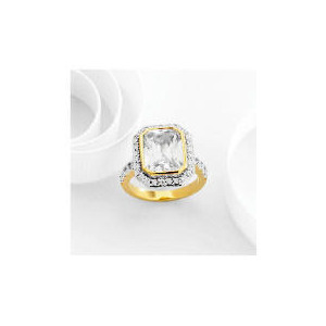 Photo of Adrian Buckley Cubic Zirconia Ring, Large Jewellery Men