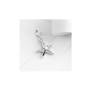 Photo of Sterling Silver Starfish Charm Jewellery Woman