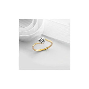 Photo of 9CT Gold 10PT Diamond Cluster Ring m Jewellery Woman