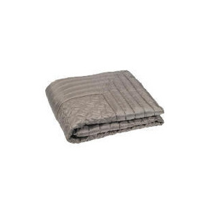 Photo of Geo Satin Bedspread Double/ King, Mocha 200X220CM Bed Linen