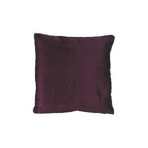 Photo of Tesco Faux Silk Cushion , Plum Cushions and Throw