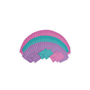 Photo of 100 Pastel Cards Stationery