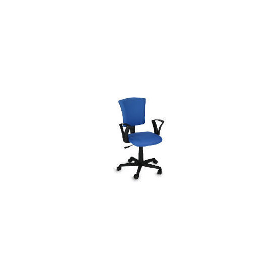 Owen Home Office Chair, Blue
