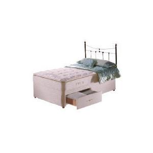 Photo of Sealy Posturepedic Ultra Pillow Elegance 2 Drawer Divan Set Single Bedding