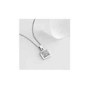 Photo of 9CT White Gold 1/4 Carat Diamond Pendant Jewellery Woman