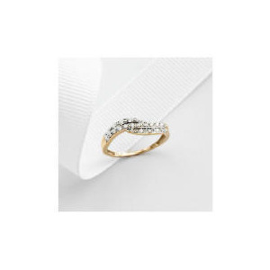 Photo of 9CT Gold 11PT Diamond Ring J Jewellery Woman