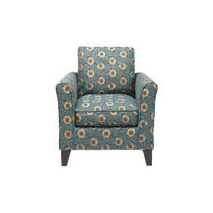 Photo of Helena Deco Circles Chair, Teal Spiral Furniture