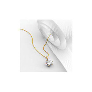 Photo of 9CT Gold Cubic Zirconia Pendant Jewellery Woman