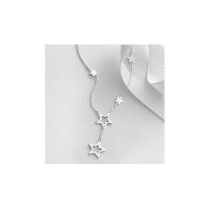 Photo of Sterling Silver Star Lariat Jewellery Woman