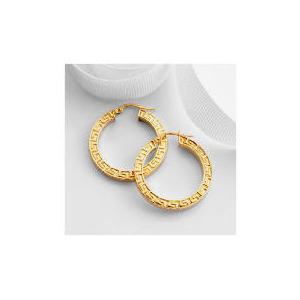 Photo of 9CT Gold Hoop Earrings Jewellery Woman