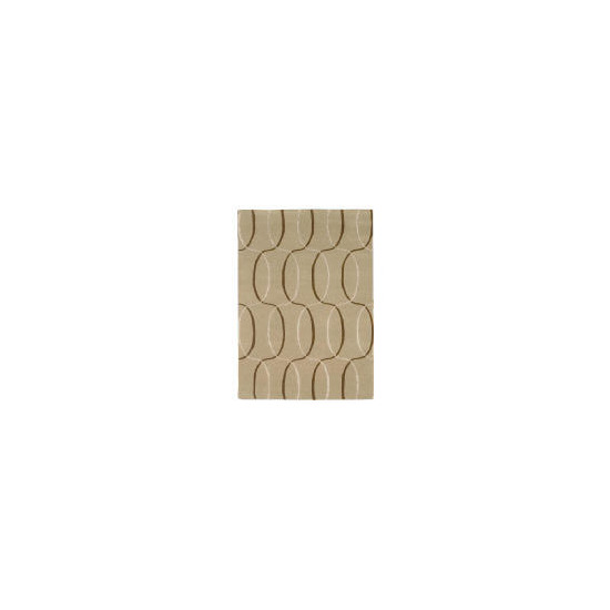 Tesco Circles Geometric Rug, Natural 150x240