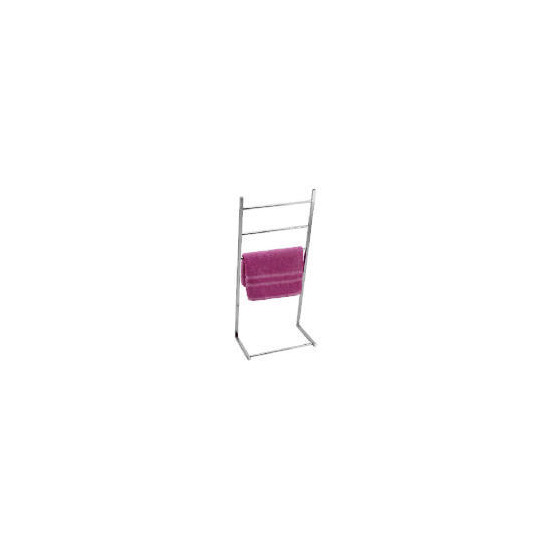 Square Tube Chrome towel stand