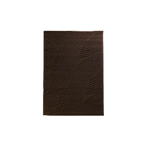 Photo of Tesco Loop & Pile Spiral Rug Choc 120X170CM Furniture