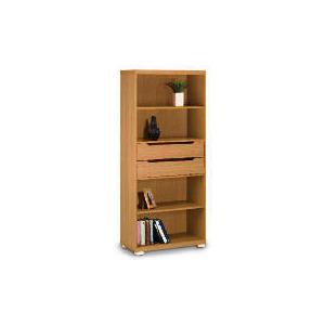 Photo of Seattle 2 Drawer 4 Shelf Storage, Oak Effect Furniture