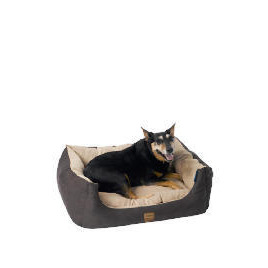 Rectangular faux suede pet bed small size 50cm Reviews