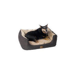 Photo of Rectangular Faux Suede Pet Bed Small Size 50CM Home Miscellaneou
