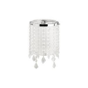 Photo of Tesco Glass & Beaded Cylinder Pendant Lighting
