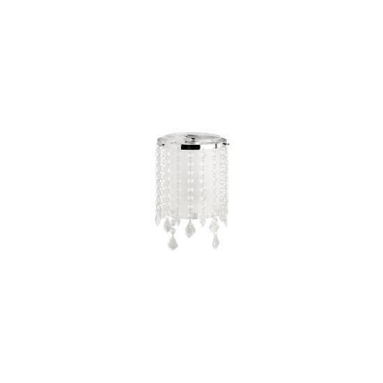 Tesco Glass & Beaded Cylinder Pendant