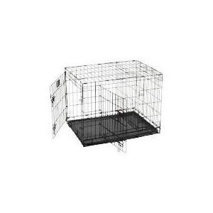 Photo of Medium Double Door Pet Crate Home Miscellaneou