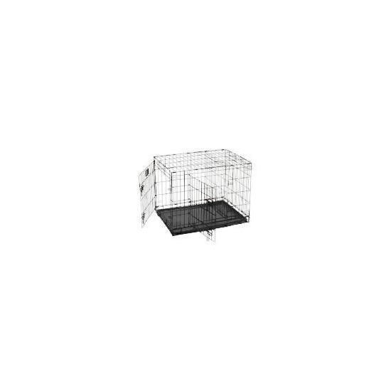 Medium Double Door Pet Crate
