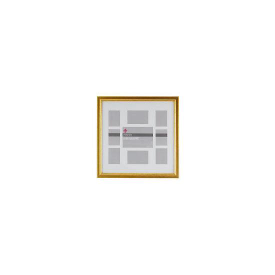 Tesco Antique Gold Finish Frame 9 Aperture