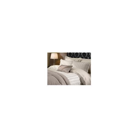 Hotel 5* Duvet Satin Stripe Set King Beige