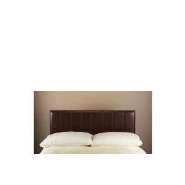 Haddon Faux Leather Double Headboard, Chocolate Reviews