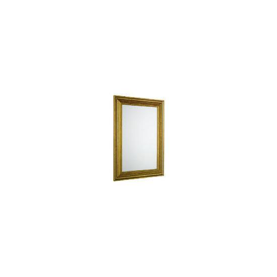 Tesco Antique Gold Look Profile Mirror 45X64cm