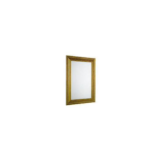 Tesco Antique Gold Look Profile Mirror 45X64cm
