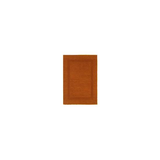 Tesco Border Wool Rug Cinnamon 150x240cm