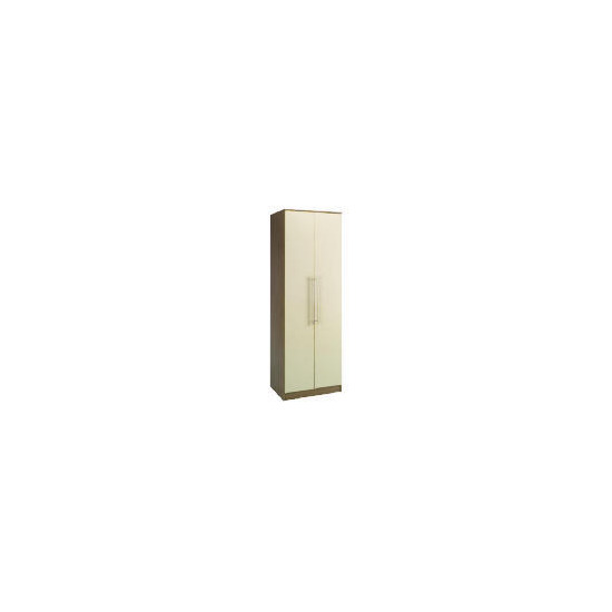 Eclipse 2 door Wardrobe, Cream