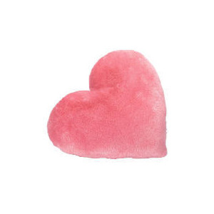 Photo of Tesco Kids Heart Cushion - Pink Cushions and Throw