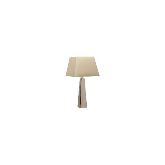 Tesco Hotel 5 * Smokey Mirror Pyramid Table Lamp