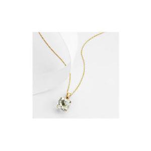 Photo of 9CT Gold Green Amethyst Pendant Jewellery Woman